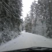 driving to work