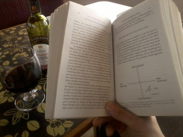 red wine and moral psychology