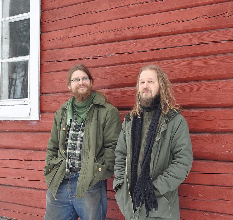 Erkka Lehmus (left) and Sami Maaranen (right)