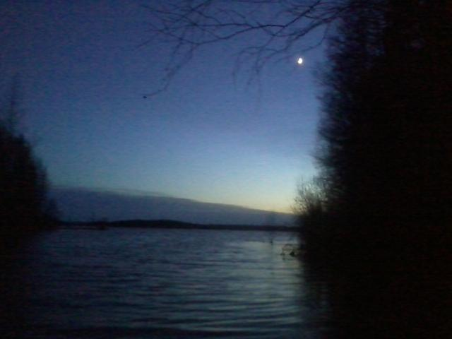Twilight after the sunset