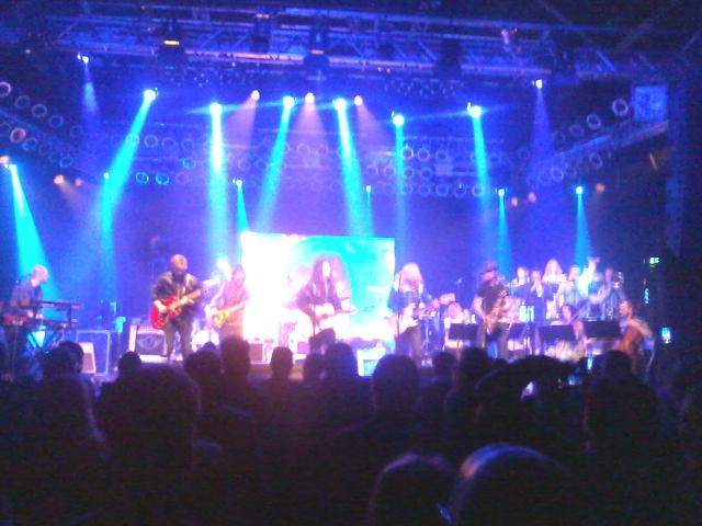 Saimaa on stage