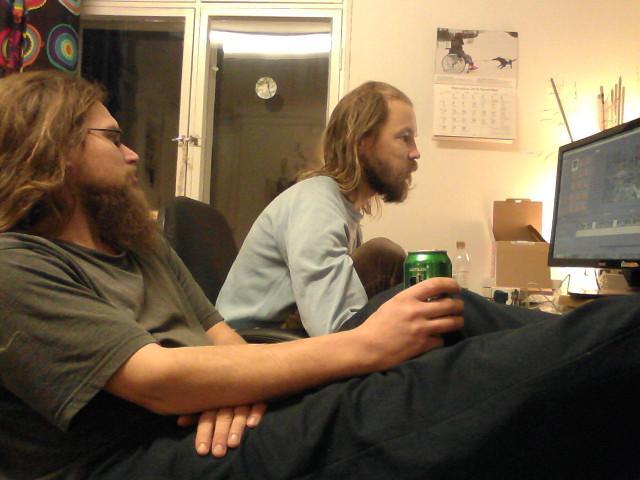 Sami edits, I drink beer