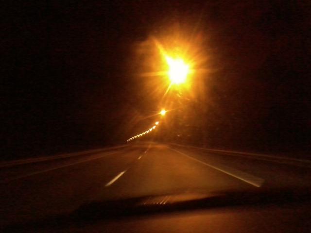 leaving Jyväskylä, driving to Sami's