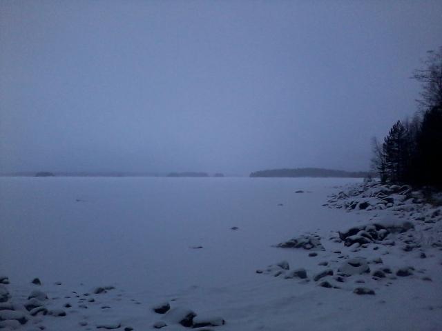 Lake Paloselkä today