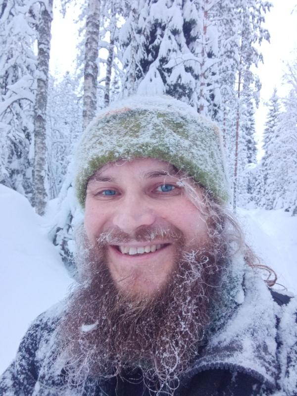 lost in the woods - and happy about it =)